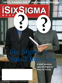 Six Sigma in Small Business - Open Call