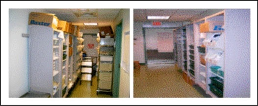 Pharmacy Area Before and After 5S Activity