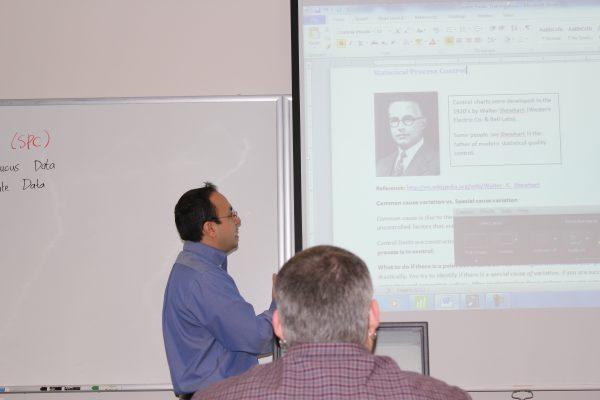 Walter A. Shewhart and Eduardo Santiago