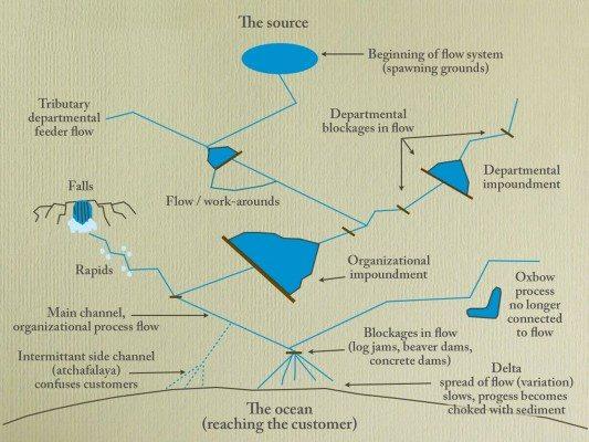 Organizational Process Flow