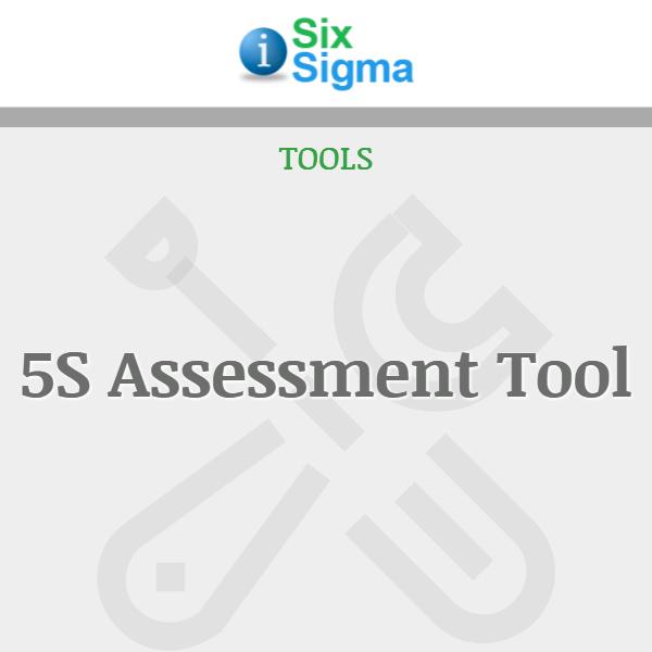 5S Assessment Tool