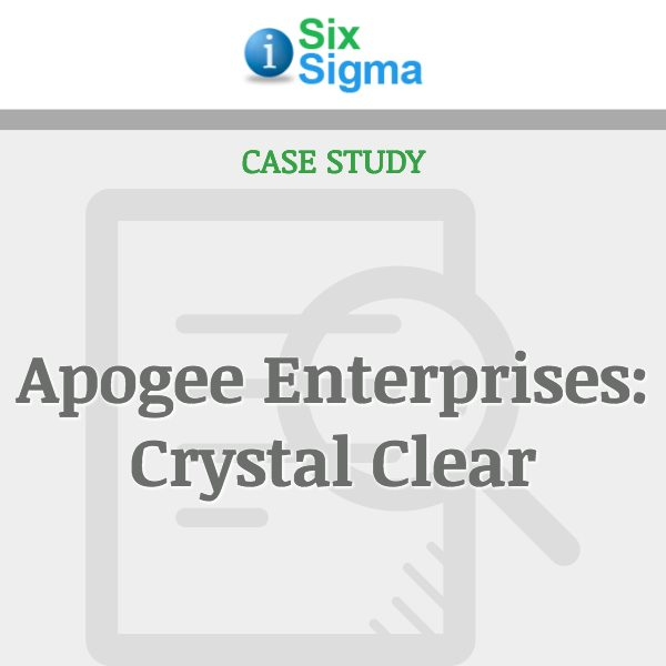 Apogee Enterprises: Crystal Clear