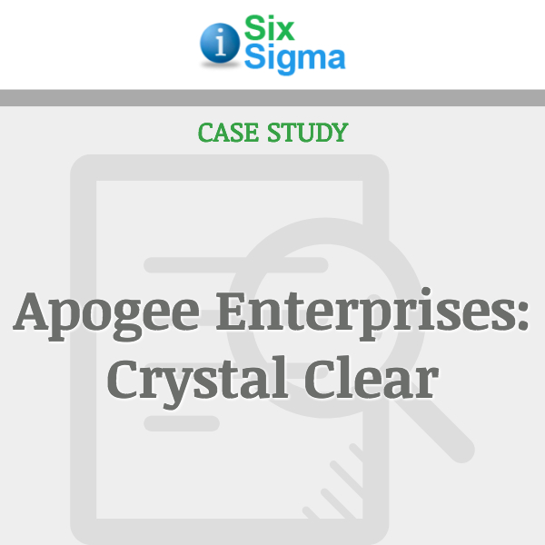 Apogee Enterprises: Crystal Clear