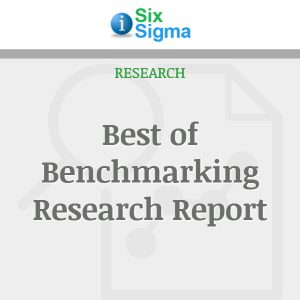 Best of Benchmarking Research Report