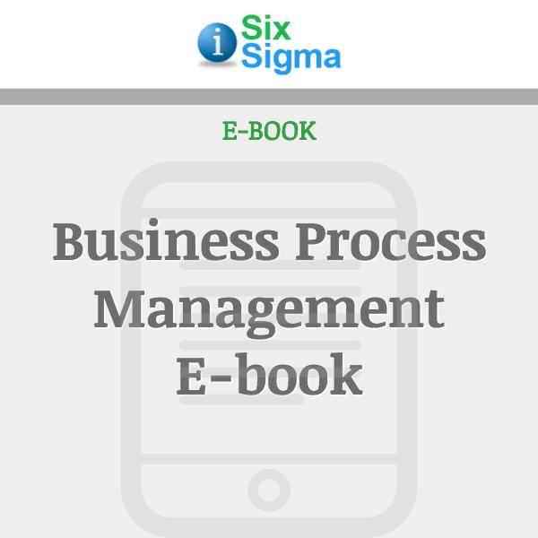 Business Process Management E-book