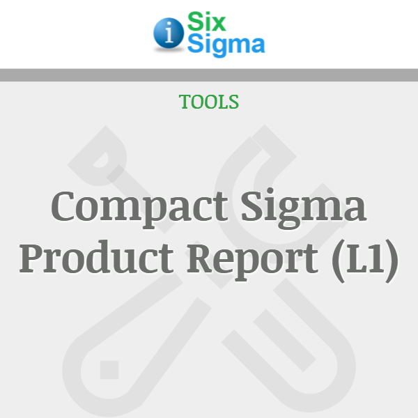Compact Sigma Product Report (L1)