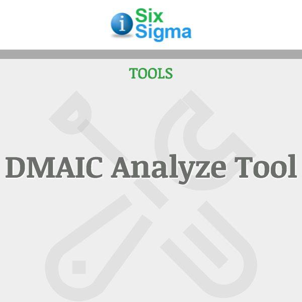 DMAIC Analyze Tool