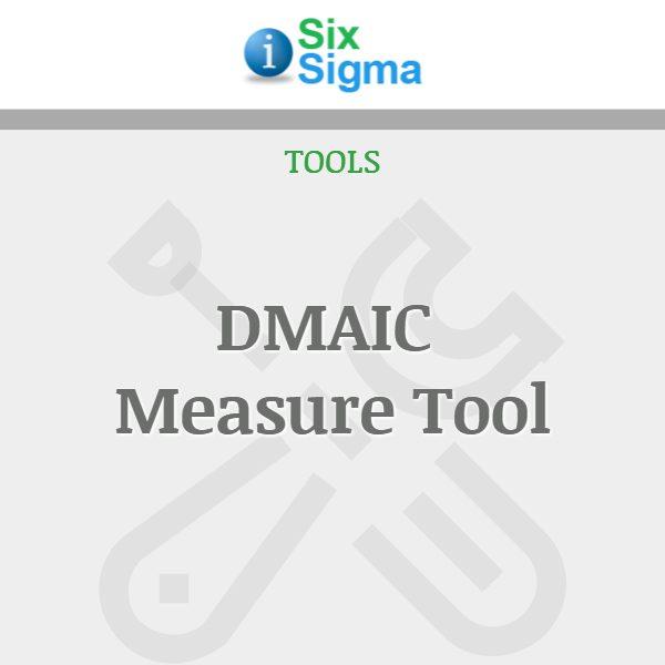DMAIC Measure Tool