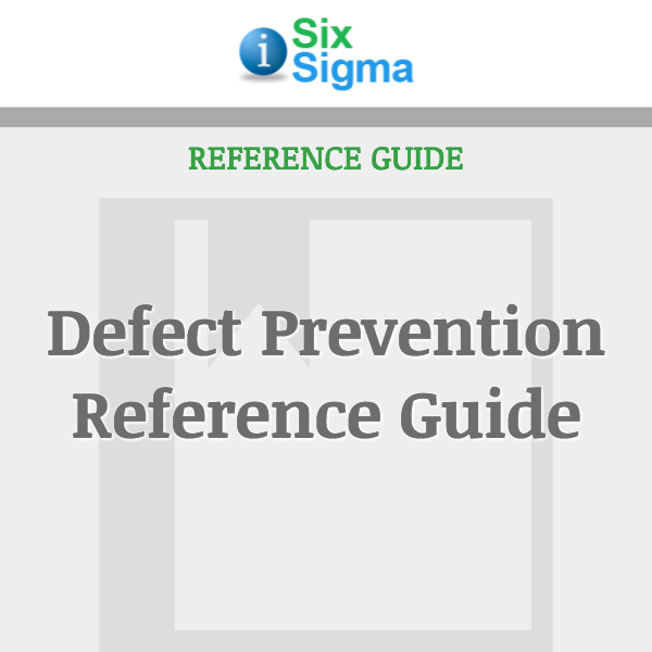 Defect Prevention Reference Guide