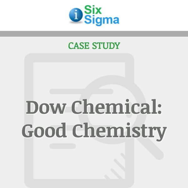 Dow Chemical: Good Chemistry