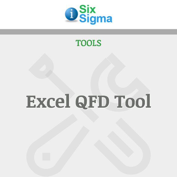 Excel QFD Tool