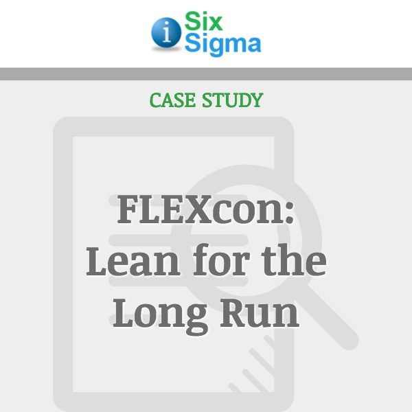 FLEXcon: Lean for the Long Run