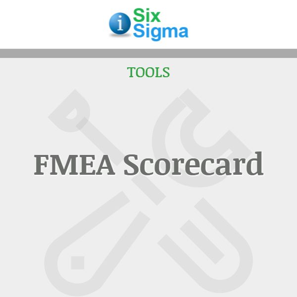 FMEA Scorecard