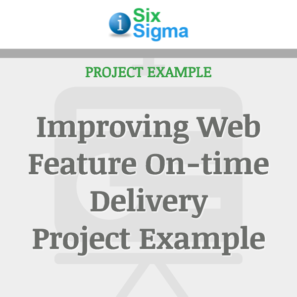 Improving Web Feature On-time Delivery