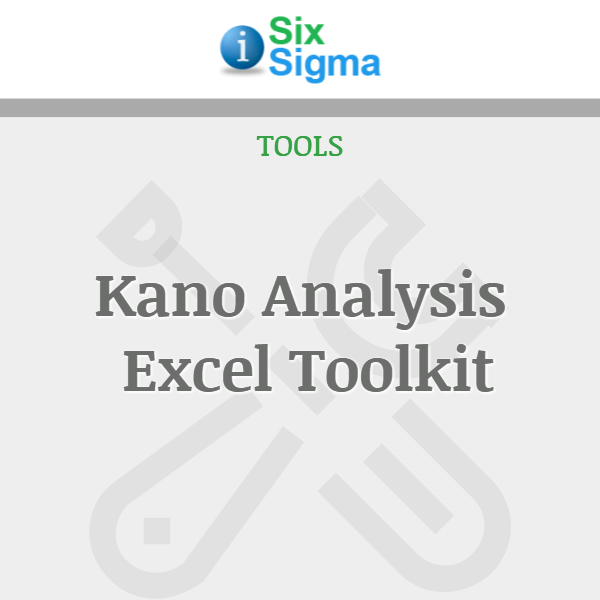 Kano Analysis Excel Toolkit