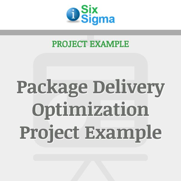 Package Delivery Optimization Project Example