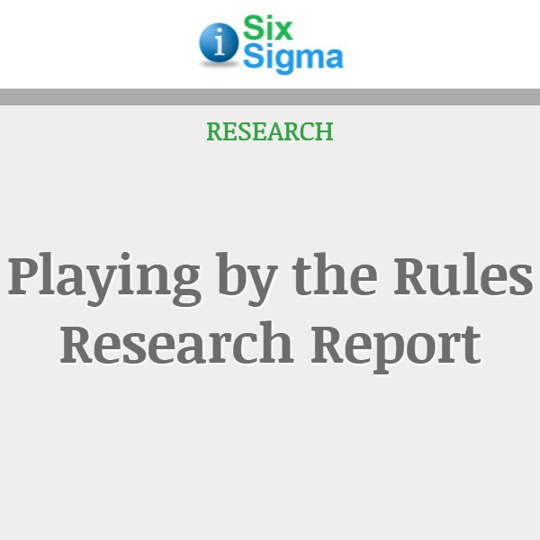 Playing by the Rules Research Report