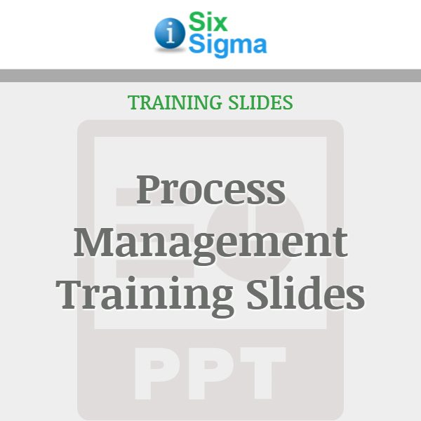 Process Management Training Slides
