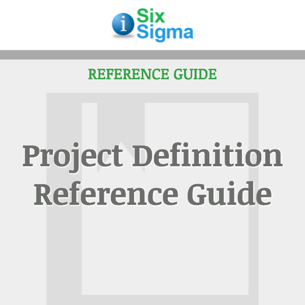 Project Definition Reference Guide