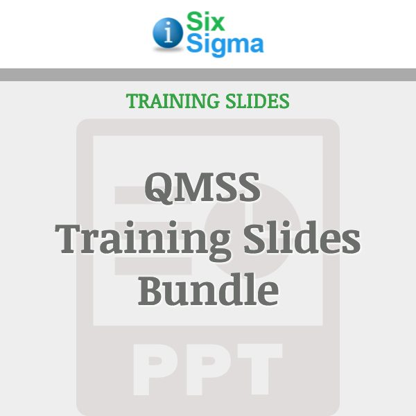QMSS Training Slides Bundle