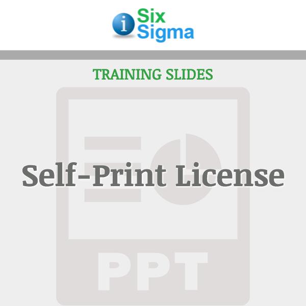 Self-Print License