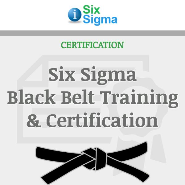 Six Sigma Black Belt Training & Certification