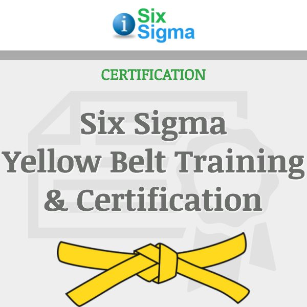 Six Sigma Yellow Belt Training & Certification