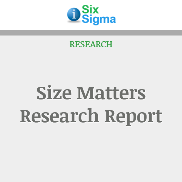 Size Matters Research Report