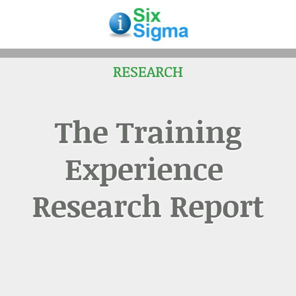 The Training Experience Research Report