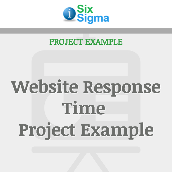 Website Response Time Project Example