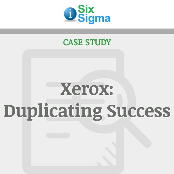 Xerox: Duplicating Success
