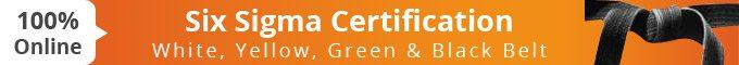 Six Sigma Online Certification