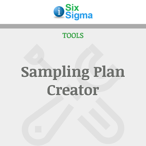 Sampling Plan Creator