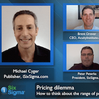 Lean Six Sigma Online Training and Certification Due Diligence [VIDEO]