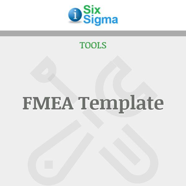 FMEA Template