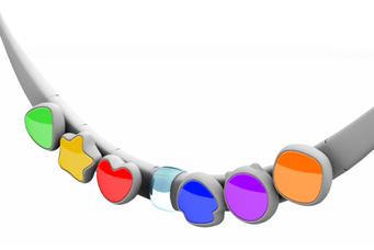 Figure 1: Prototype of a Necklace Using Haptics