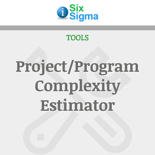 Project/Program Complexity Estimator