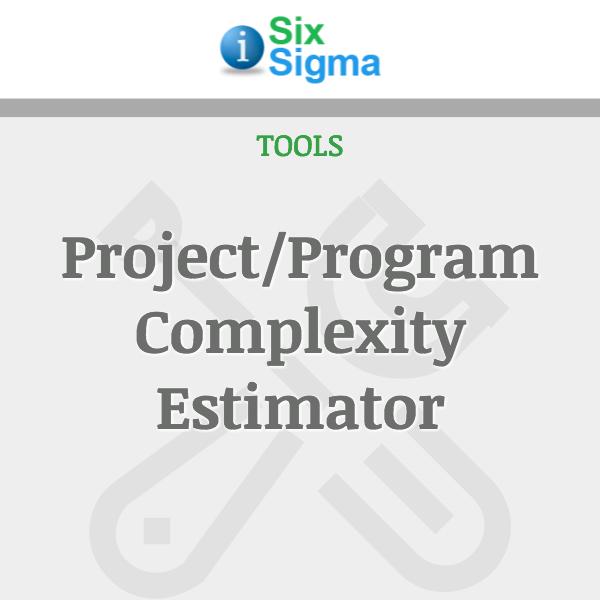 Project/Program Complexity Estimator