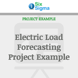 Electric Load Forecasting Project Example