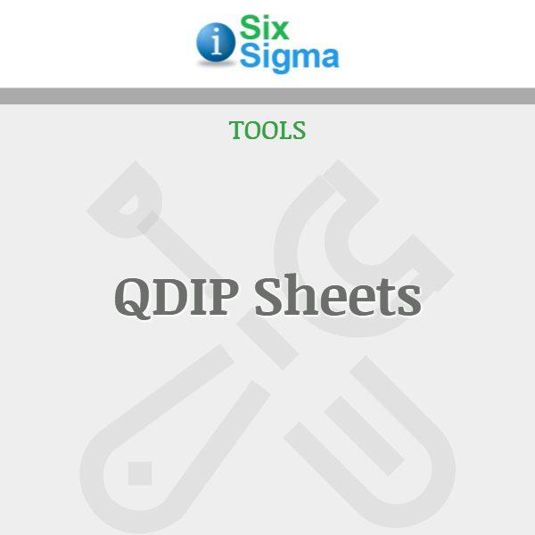 QDIP Sheets
