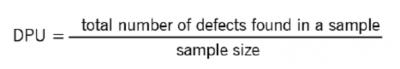 The DPU calculation