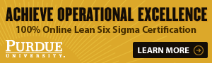 100% Online Lean Six Sigma Certification