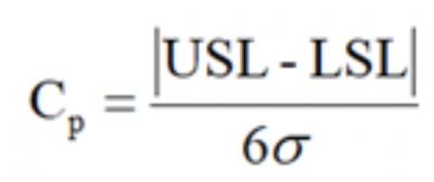 Cp formula