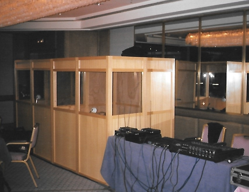 Simultaneous Translators' Booths (Barcelona,1995)