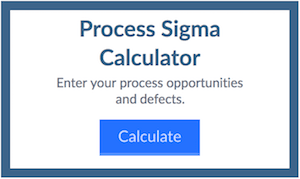 What's Your Process Sigma Level
