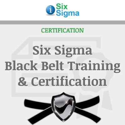 Six Sigma Black Belt Training & Certification