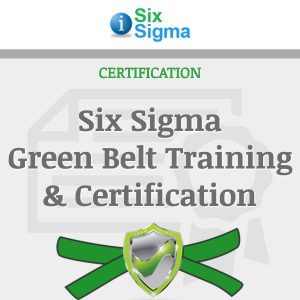 Six Sigma Green Belt Training Certification