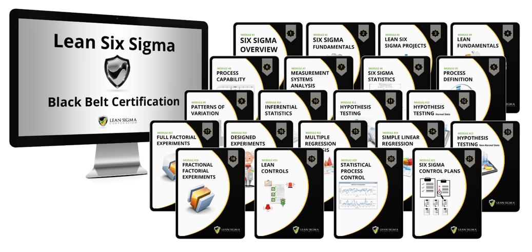 Lean Six Sigma Black Belt Certification