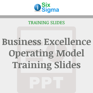 Business Excellence Operating Model Training Slides