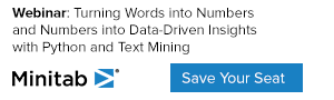 Minitab Data-driven Insights with Python and Text Mining